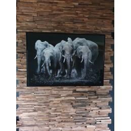 PEINTURE/TABLEAU ELEPHANT...