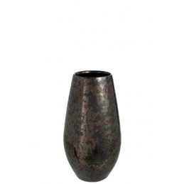 VASE ANTIQUE SMOKEY NOIR