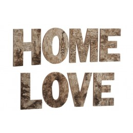 LETTRES LOVE HOME BOIS...