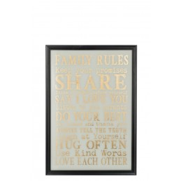 PLAQUE FAMILY RULES...